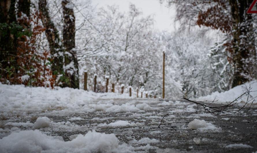 Viel Schnee in Ennepetal!