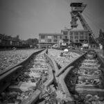 Schwarzweiß-Fotografie an der Zeche Zollern